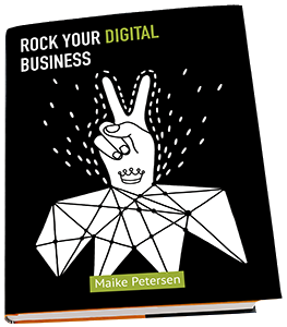 Maike Petersen - Buch ROCK YOUR DIGITAL BUSINESS Freisteller